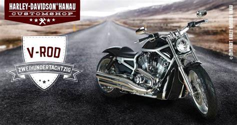 Motorrad Shop Hanau v rod umbau 280 custombike customshop harley davidson hanau