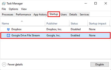 drive file stream is not enabled for the account how to run drive file stream 24 7 as a windows service