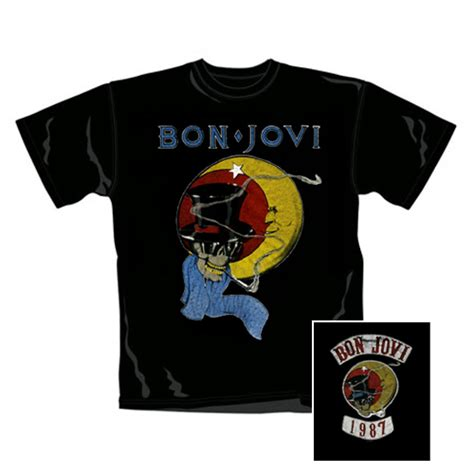 T Shirt Bonjovi 2 official bon jovi t shirt buy on offer