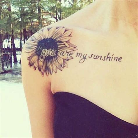 sunflower tattoo on shoulder 25 best ideas about sunflower shoulder on