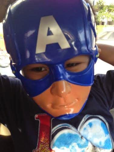 Topeng Perisai Capt Amerika cheritera hidup dan kejayaan perkembangan anak