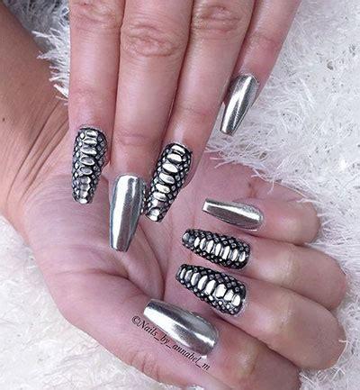 Silver Nail Designs 2017 15 amazing silver mirror nail designs ideas 2017