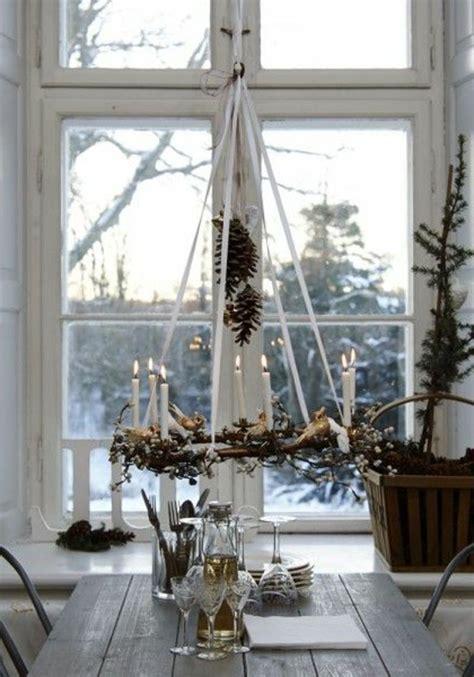 ideen f 252 r weihnachtliche dekoration mit tannenzweigen