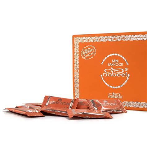 mini bakhoor nabeel touch me incense 108gm box of 36 x 3gm
