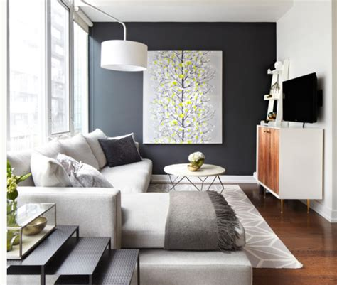 living room with accent wall accent wall ideas modern diy art designs