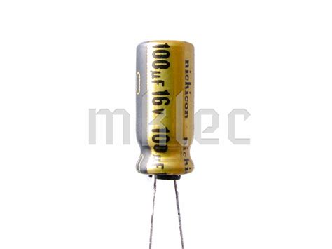 resistor for capacitor 100uf 16v audio grade electrolytic capacitor nichicon