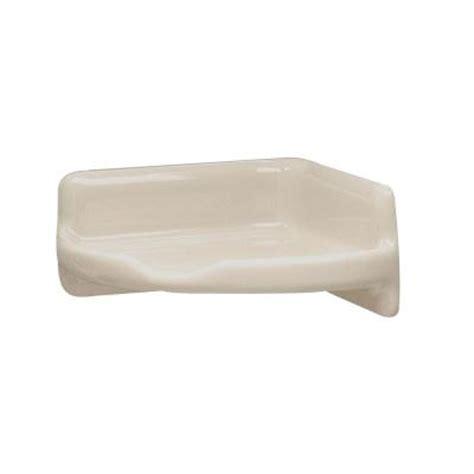 lenape 3 5 in x 3 5 in bone ceramic corner shelf 170317
