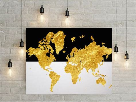 World Wall Decor by Best 25 Map Canvas Ideas On College