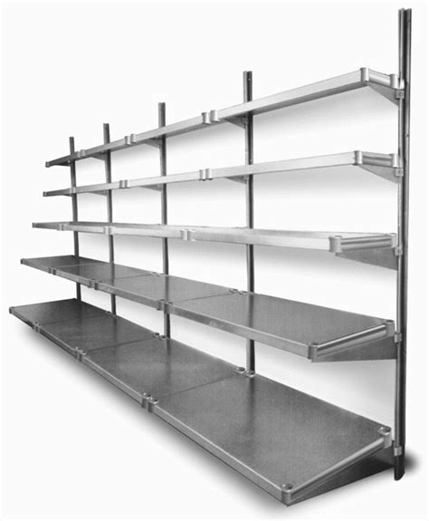 industrial wall shelving systems