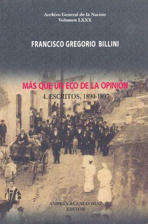 calaméo francisco gregorio billini, más que un eco de la