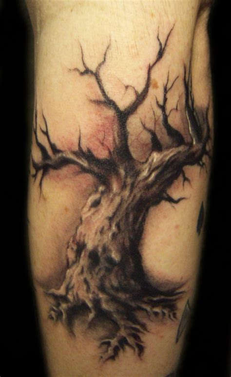 oak tree tattoo designs oak tree design on arm busbones
