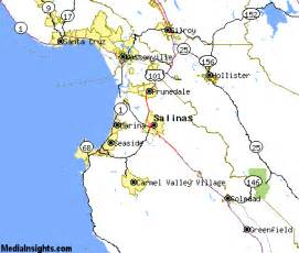 where is salinas california on the map of california salinas california map and salinas california satellite image
