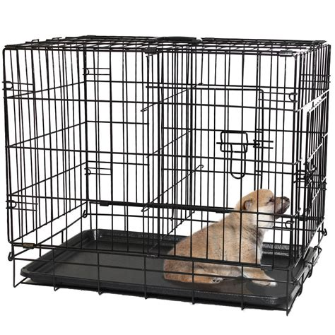 metal crate review oxgord door folding metal pet crate dogs recommend