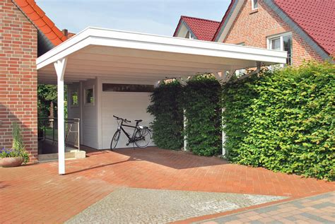 Carport Weiss Holz by Carport Wei 223 Holz In05 Hitoiro