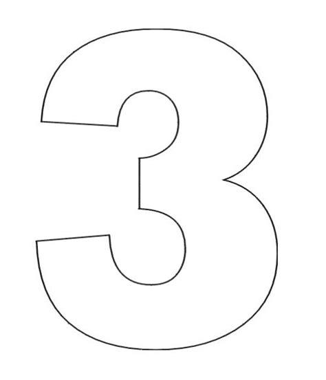 Number 3 Coloring Page by Number 3 Coloring Page Number 3 Coloring Page Number 3