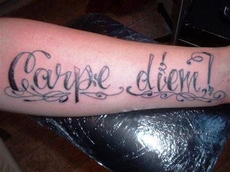 tattoo quotes like carpe diem carpe diem tattoo quotes quotesgram