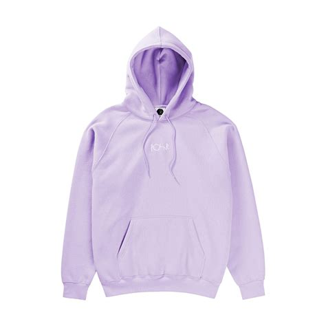 default hoodie in lavender by polar skate co