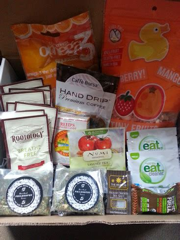 Subscription Box Giveaway - food health subscription box sler giveaway 10 items