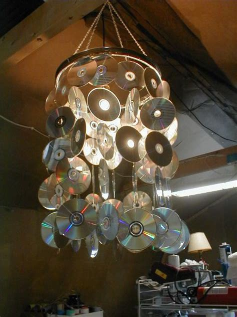 Living Simply And Green 11 Cool Things Made From Recycled Recycled Chandelier Ideas