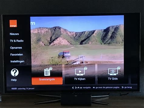 sorry telenet ik kijk en surf nu via orange tv