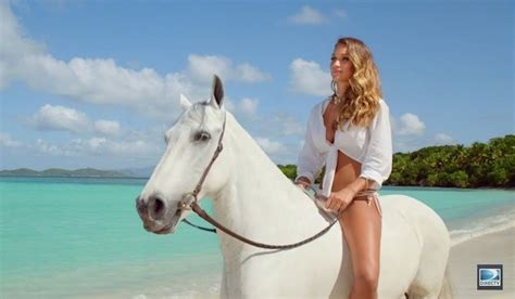 amazon commercial actress with horse watch hannah davis directv commercial