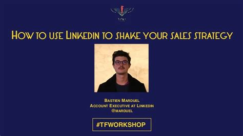 how to my to shake quot how to use linkedin to shake your sales strategy quot by bastien marduel