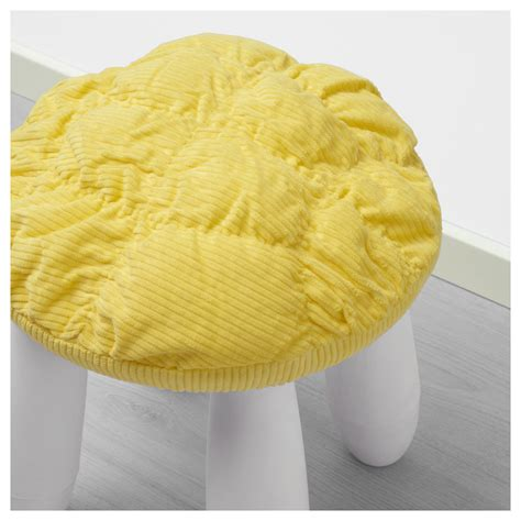 Yellow Stool In Toddlers by Stickat Stool Cover Yellow