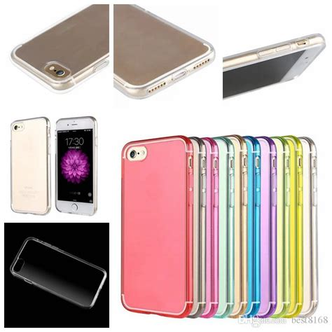Jelly Iphone 7g Plus Iphone I7 Plus for iphone7 iphone 7 clear colorful soft tpu gel silicone transparent blank protective 7g