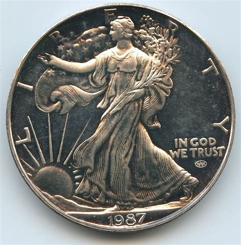 1 Troy Ounce Silver 999 Coin Liberty - sports memorabilia auction pristine auction