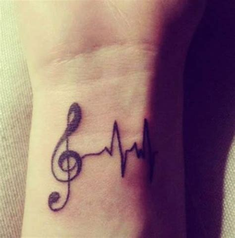 simple tattoo music top 15 music tattoo designs for you easyday