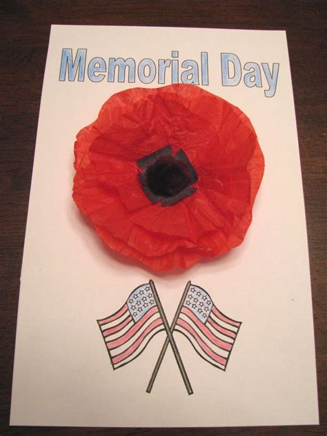 memorial day crafts 7 poppy crafts for remembrance day creative sides