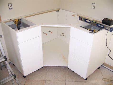 Ikea Corner Kitchen Cabinet by Ikea Corner Cabinet Modification For Sink Remodle Ideas