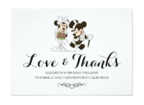 Disney Card Template by 62 Wedding Cards In Psd Free Premium Templates