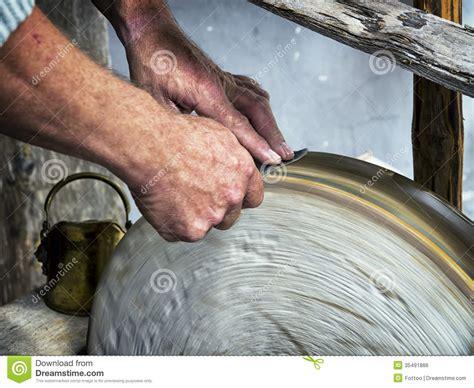 sharping a knife sharpening royalty free stock image image 35491866