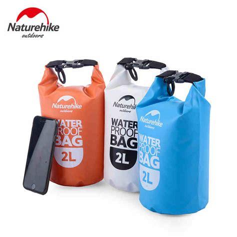 Waterproof Bag Outdoor Drifting Waterproof Bag 5 L Green naturehike high quality outdoor waterproof bags ultralight cing hiking drifting swimming