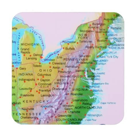 map of us east coast mountain ranges map appalachian mountains east coast us photo drink