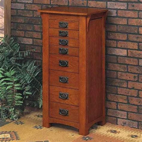 jewelry armoire mission style mission style jewelry armoire in mission black wood finish