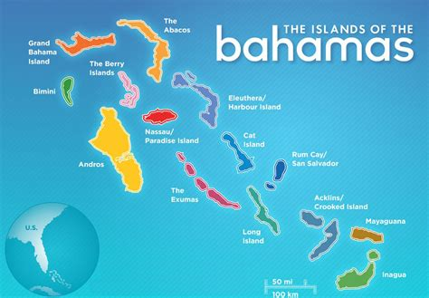 the bahamas map bahamas islands mapa