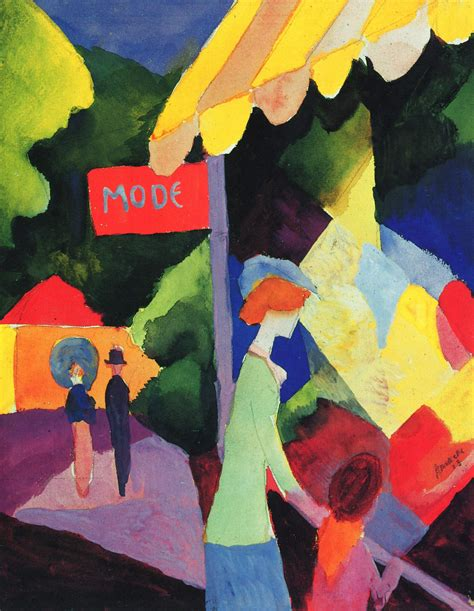 august painting and drawing motionista fashion window august macke wikiart org