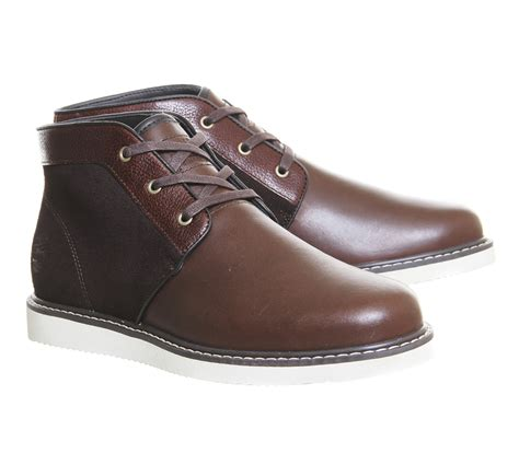 timberland boots chukka timberland newmarket chukka boots in brown for lyst