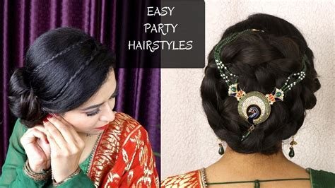 diy indian hairstyles diy quick indian bun hairstyle easy hairstyles for