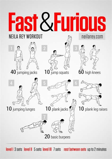 fast and furious all cardio workout workout plans