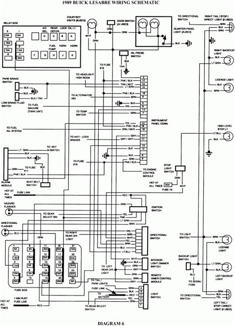 buick regal wiring diagram 2000 buick lesabre fuse box wiring diagrams diagram 1998