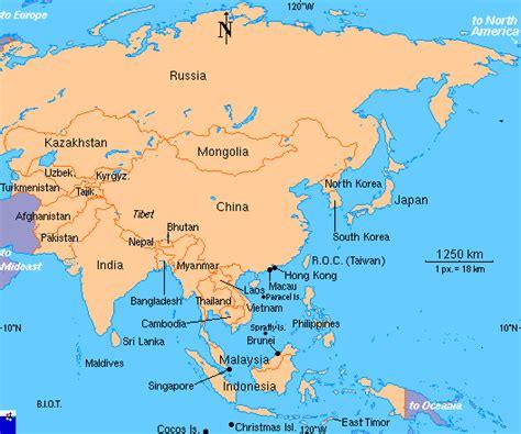 Search Asia Hibiaweb Asia Map Search