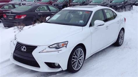 lexus 2014 white 2014 lexus is 250 awd white on parchment luxury package