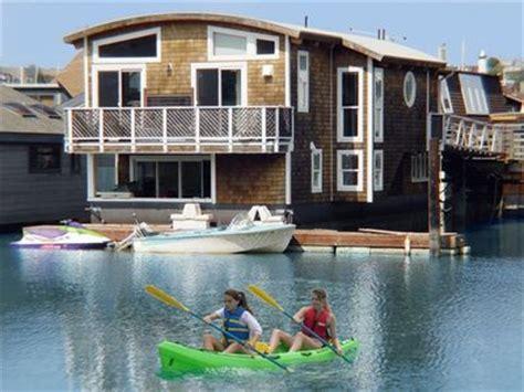 boat house san francisco modern and elegant houseboat in vrbo