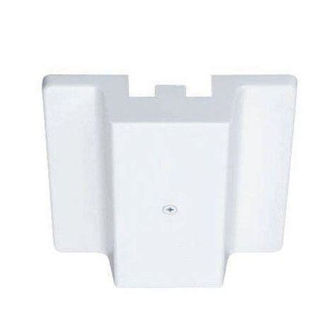 juno track lighting accessories juno trac lites white floating electrical feed r29 wh