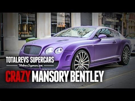 matte purple bentley video matte purple mansory bentley continental gt in