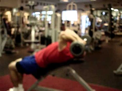 skull crushers on incline bench lying tricep extensions or skull crushers on an incline