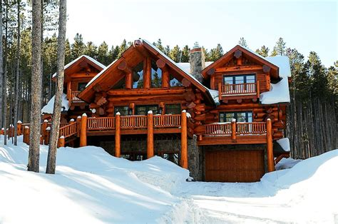 Log Cabin House by Log Cabin Allure From Cabin To Mansion Summitdaily Com